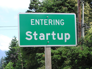 Startup sign